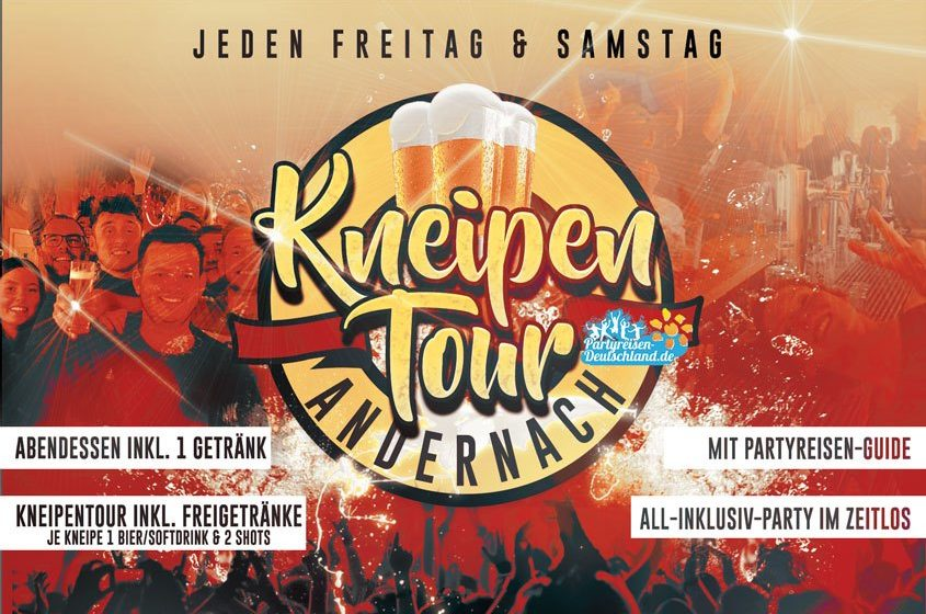Crazy Kneipentour - All incl. in Andernach am Rhein