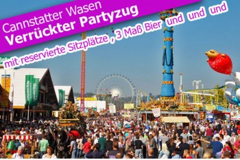 Party Zug zur Cannstatter Wasen 2017
